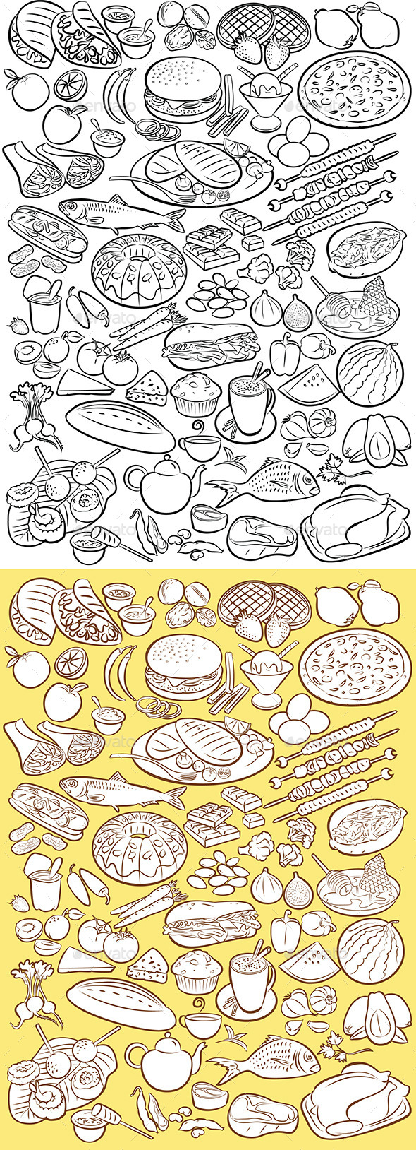 GraphicRiver Food 9918940