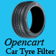Opencart Car Tyre Filter Module
