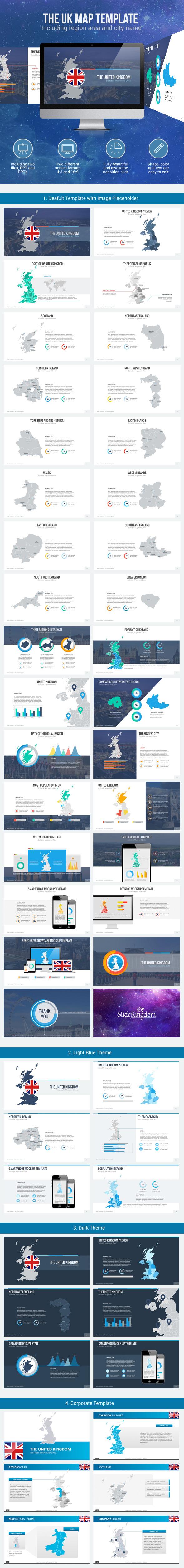 GraphicRiver United Kingdom Maps 9865701