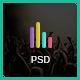 Crazy Hour – Event Management PSD Template (Events) Download