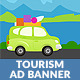 Tourism & Travel HTML5 Ad Banner