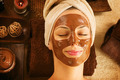Chocolate Luxury Spa. Facial Mask. Day Spa Treatment - PhotoDune Item for Sale