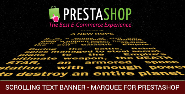 CodeCanyon Scrolling Text or and Images and Video Banner Marquee for Prestashop 9919758