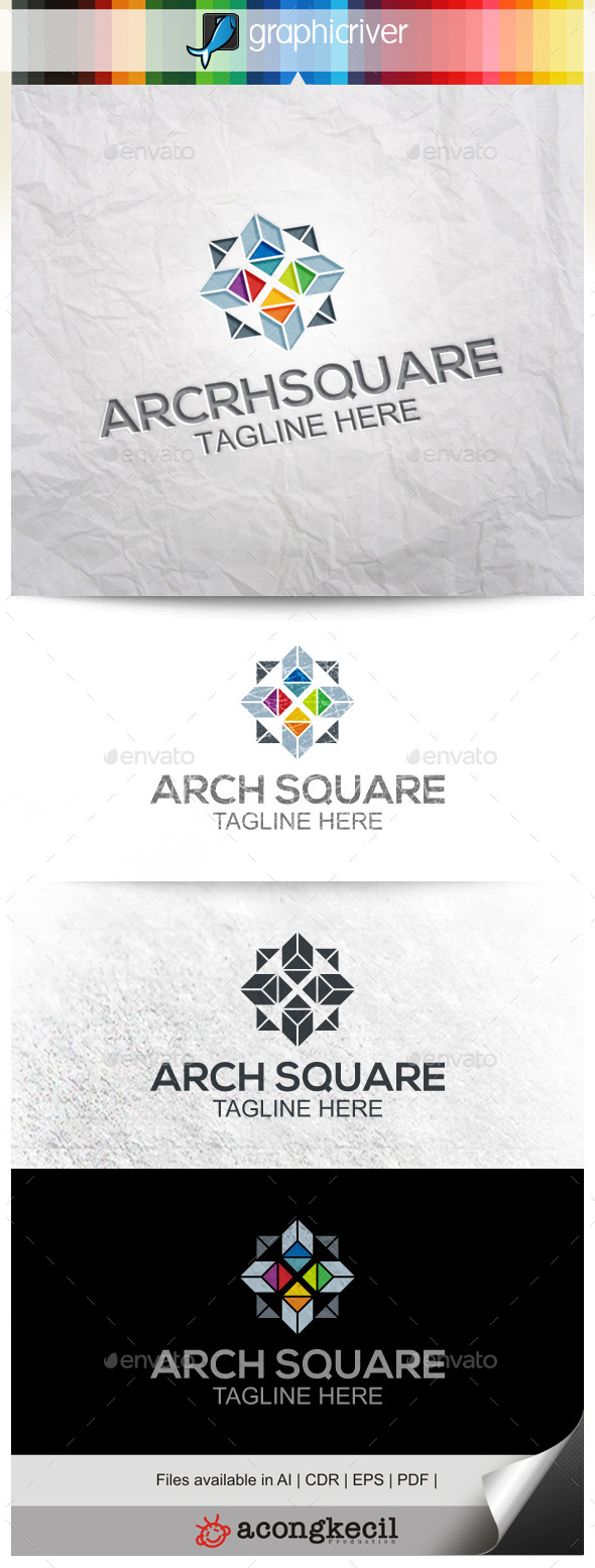 GraphicRiver Architecture Square V.2 9919769