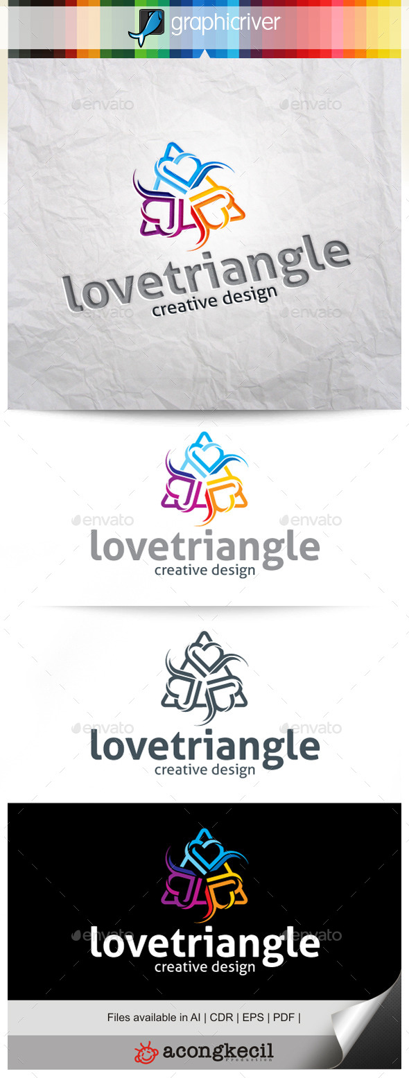 GraphicRiver Love Triangle V.5 9919782