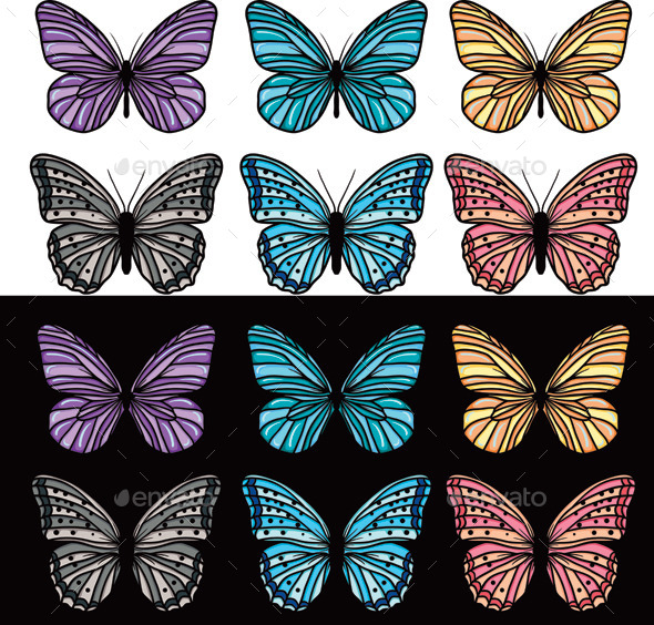 GraphicRiver Butterfly 9919832