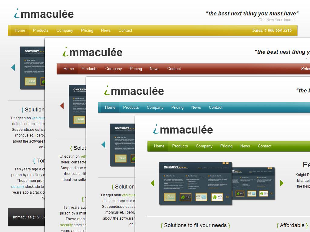 Immaculée - Software / Web Apps / Portfolio
