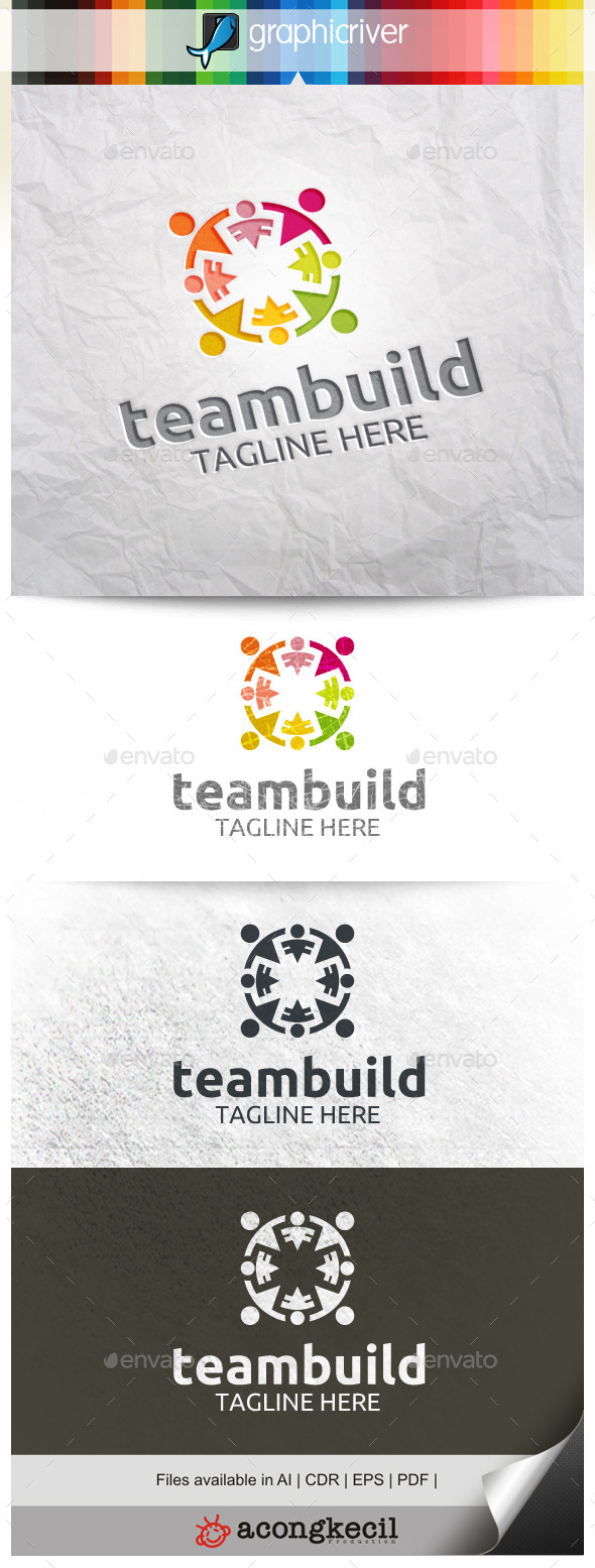 GraphicRiver Team Building 9920086