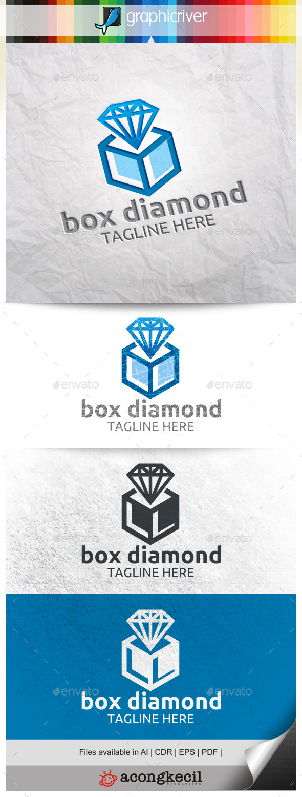 GraphicRiver Diamond Box 9920103