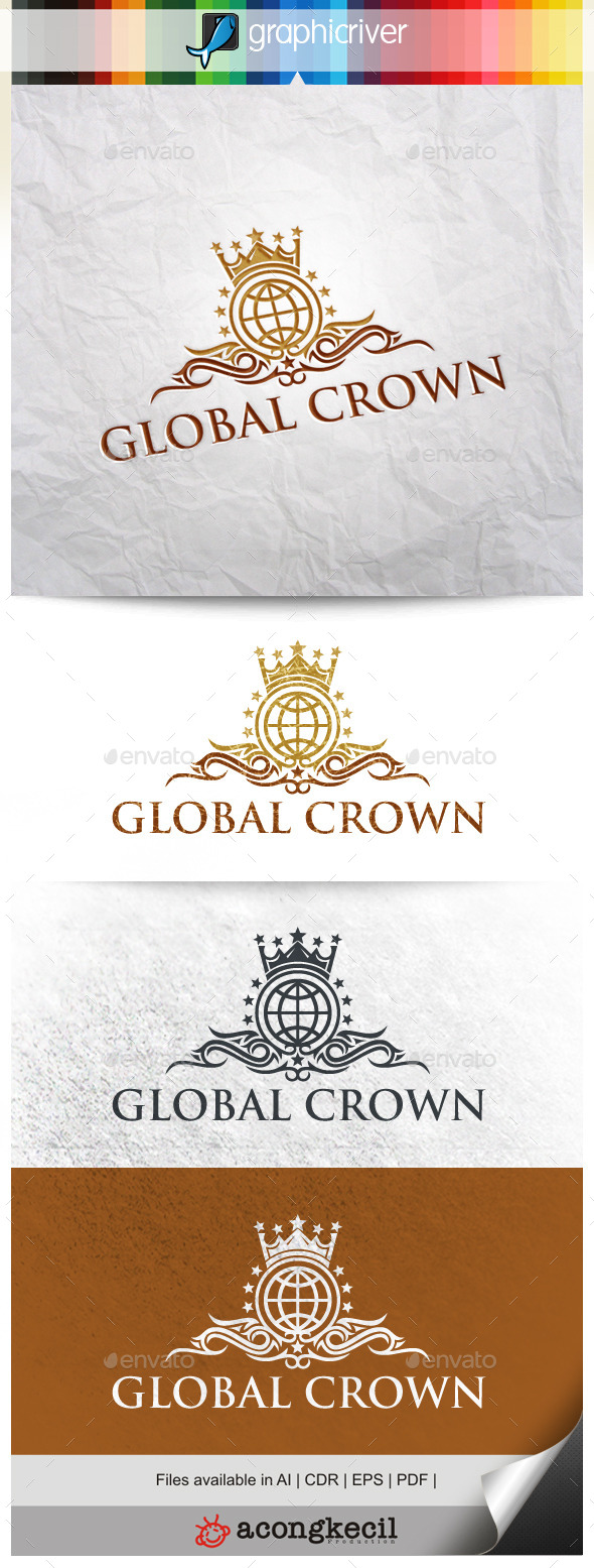 GraphicRiver Global Crown 9920125