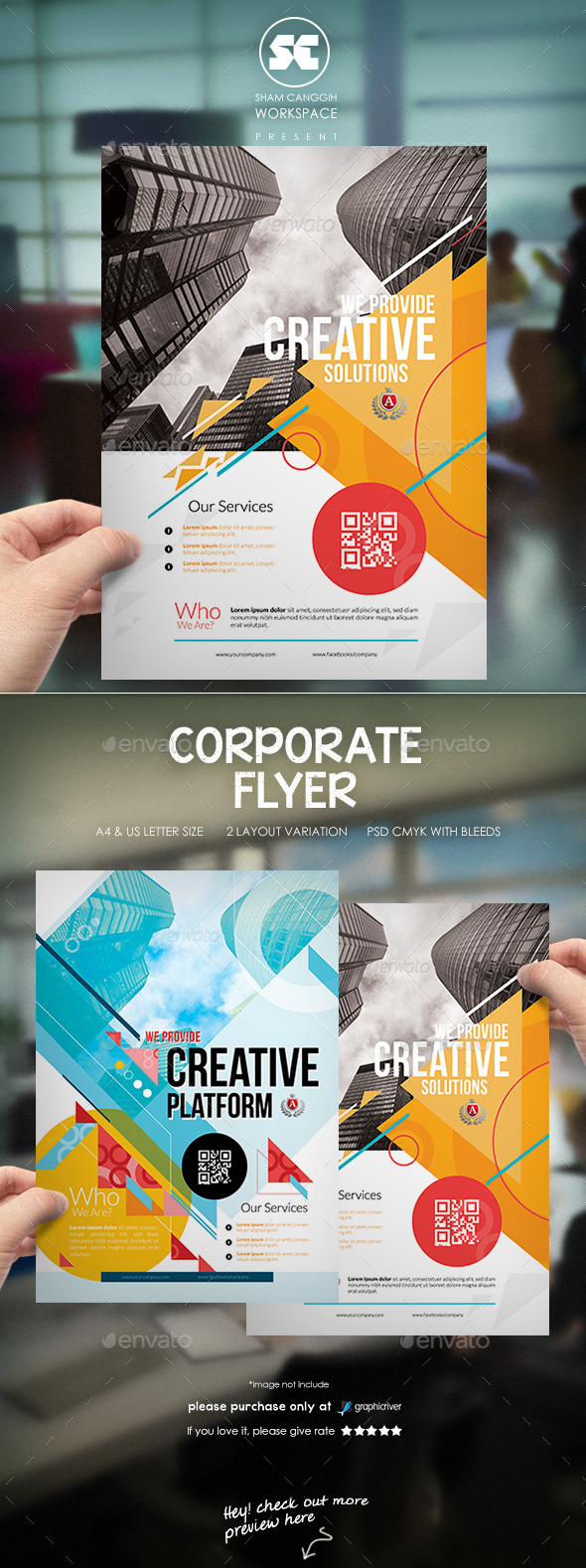 GraphicRiver Creative Corporate Flyer 9920295