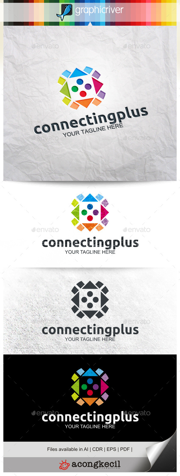 GraphicRiver Connecting Plus 9920319