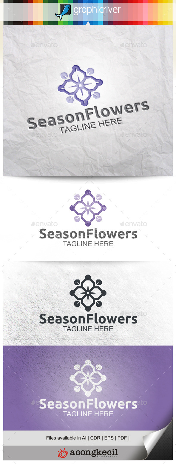GraphicRiver Season Flower 9921001