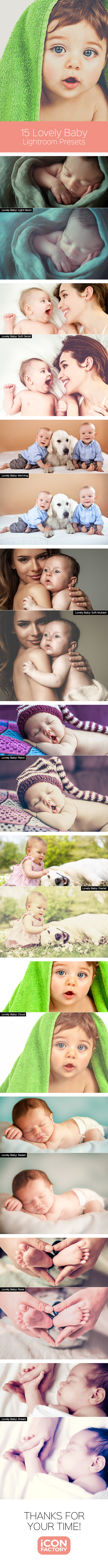GraphicRiver Lovely Baby Lightroom Presets 9921100