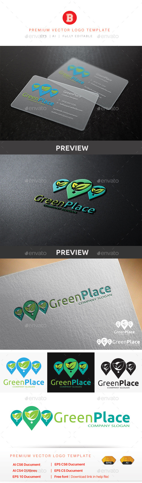 GraphicRiver Green Place 9921388