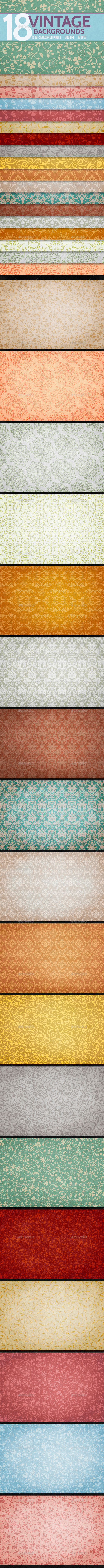 GraphicRiver Vintage Backgrounds 9921460