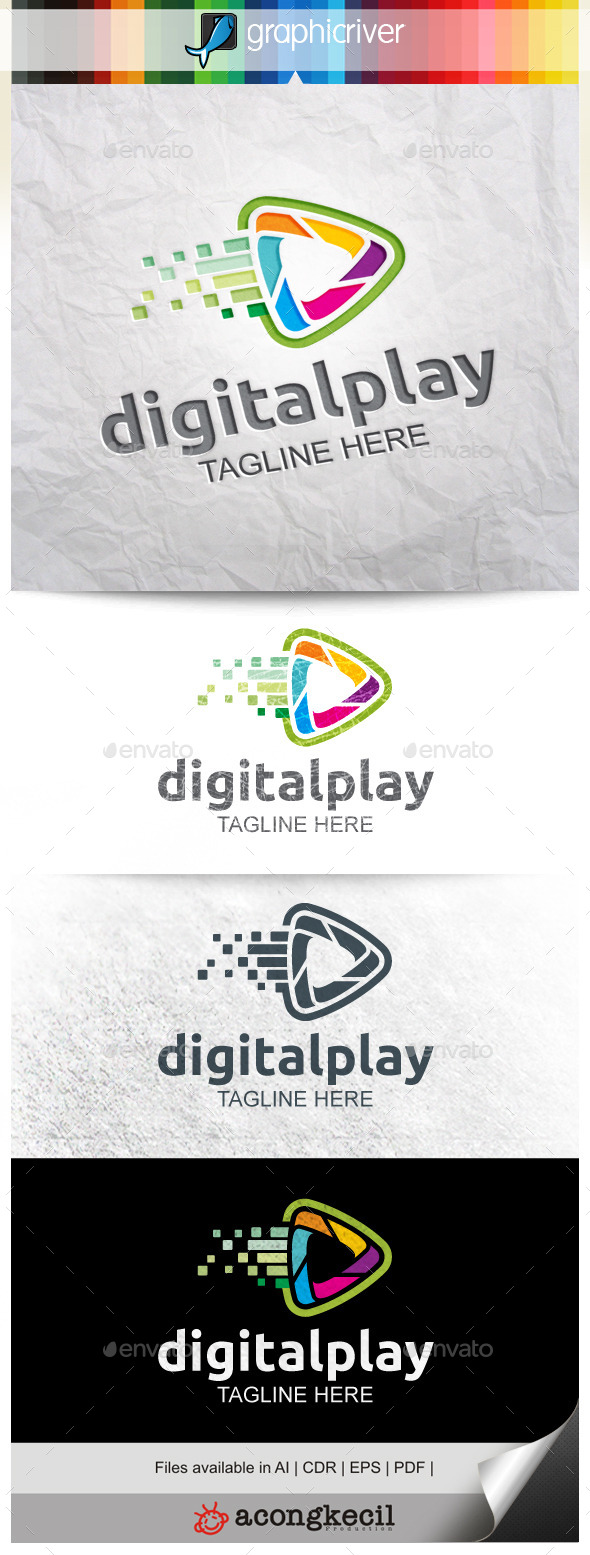 GraphicRiver Digital Play V.3 9921533