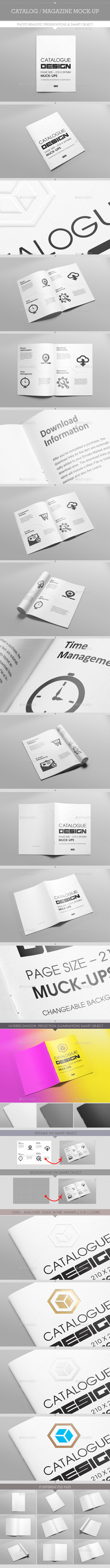 GraphicRiver Catalog Magazine Mock-Ups 9896363