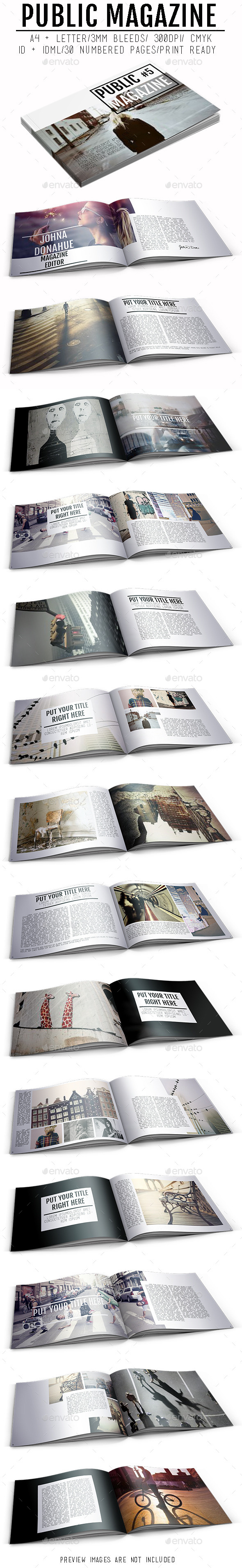 GraphicRiver Public Magazine 9921786
