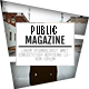 Public Magazine - GraphicRiver Item for Sale
