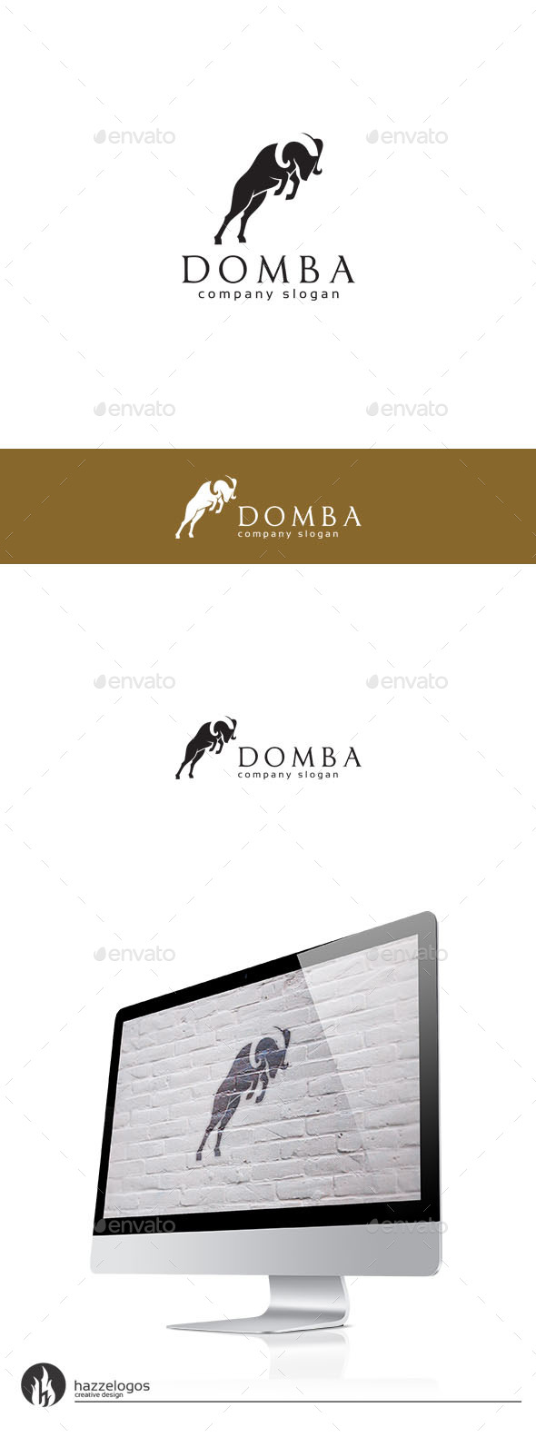 GraphicRiver Domba Logo 9923323