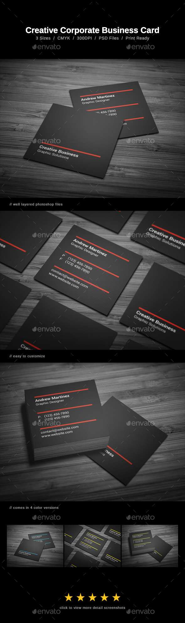 GraphicRiver Creative Business Card 9923491