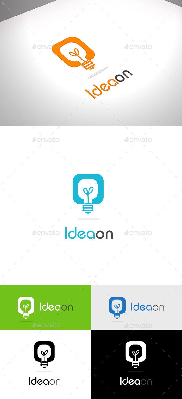 GraphicRiver Ideaon Business Logo 9923628