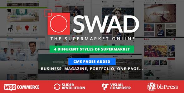 Responsive Supermarket Online Theme - Oswad - WooCommerce eCommerce