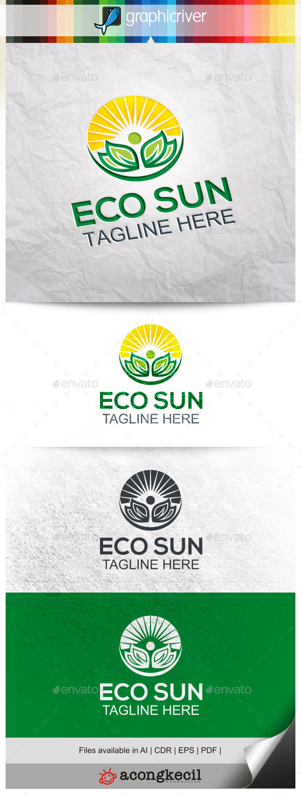 GraphicRiver Eco Sun 9923925