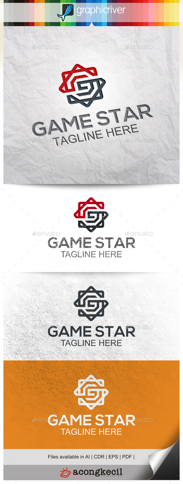 GraphicRiver Game Star 9923954