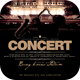Concert Live CD Cover Template - GraphicRiver Item for Sale