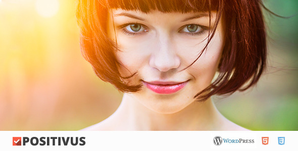 Positivus - AJAX Blog/Portfolio Theme