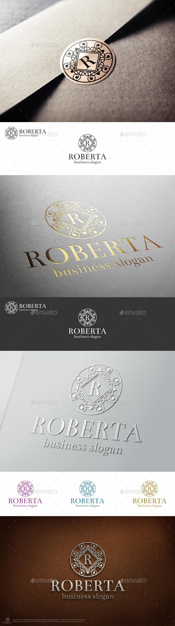 GraphicRiver Elegant Boutiqe Letter Crest Logo 9924390