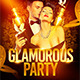 Glamorous Party Flyer Template - GraphicRiver Item for Sale