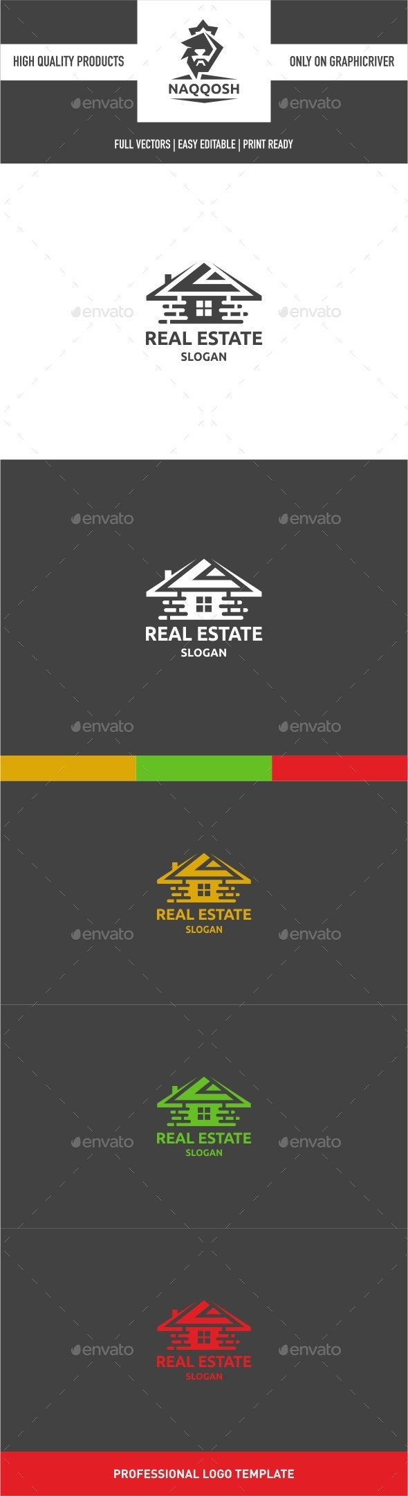 GraphicRiver Real Estate Logo 9916003