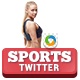 Sports Twitter Header - GraphicRiver Item for Sale
