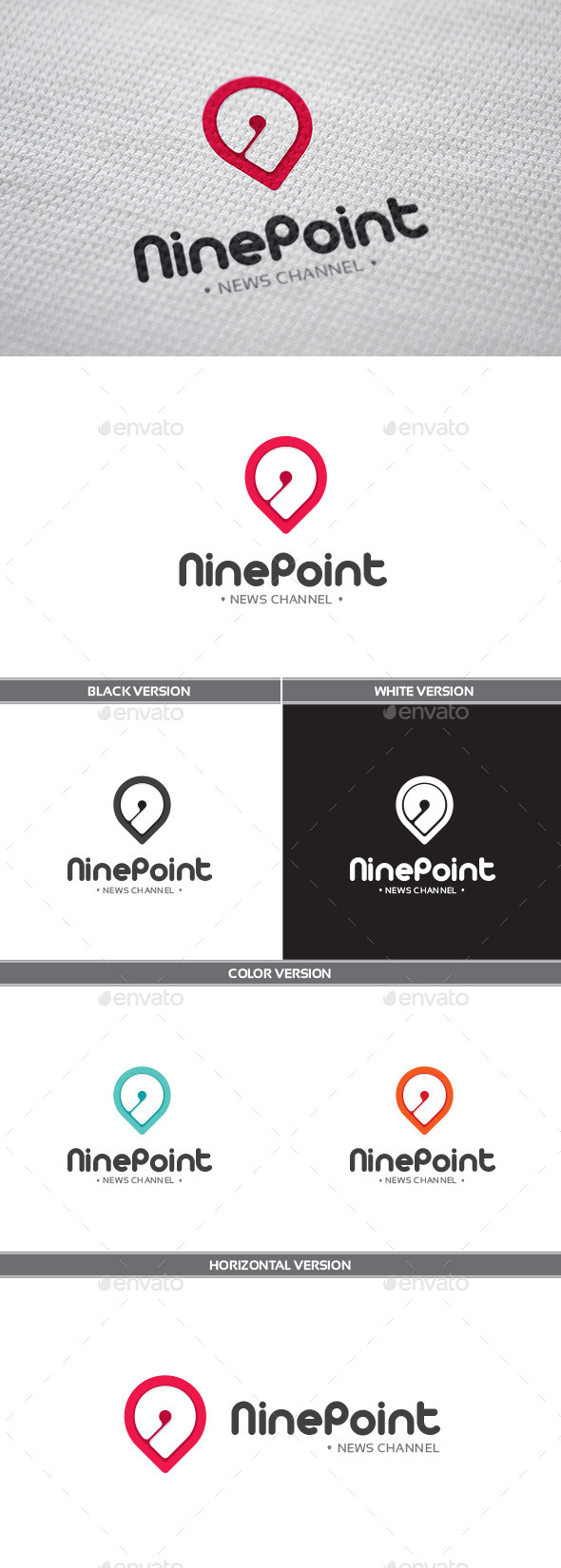 GraphicRiver NinePoint Logo 9925675