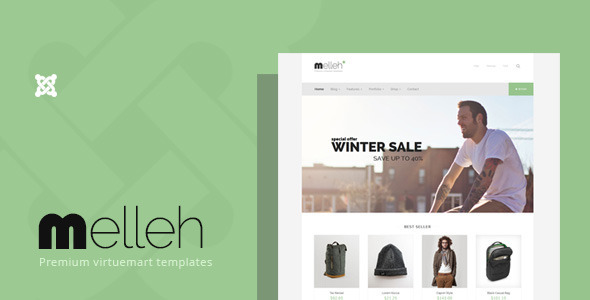 ThemeForest Melleh Clean Virtuemart Template 9926320