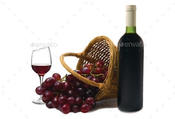 GraphicRiver Wine 9926369