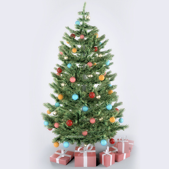 3DOcean Christmas Tree 9928082
