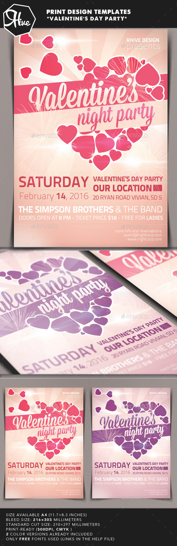 GraphicRiver Valentine s Day Event 9928530