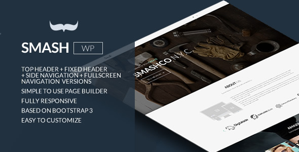 ThemeForest Smash Responsive Bold Multipage Onepage Theme 9928615