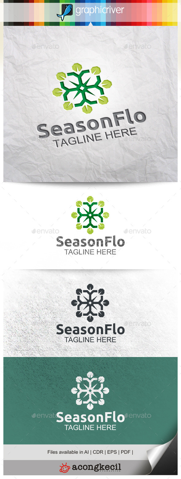 GraphicRiver Season Flower V.2 9928711