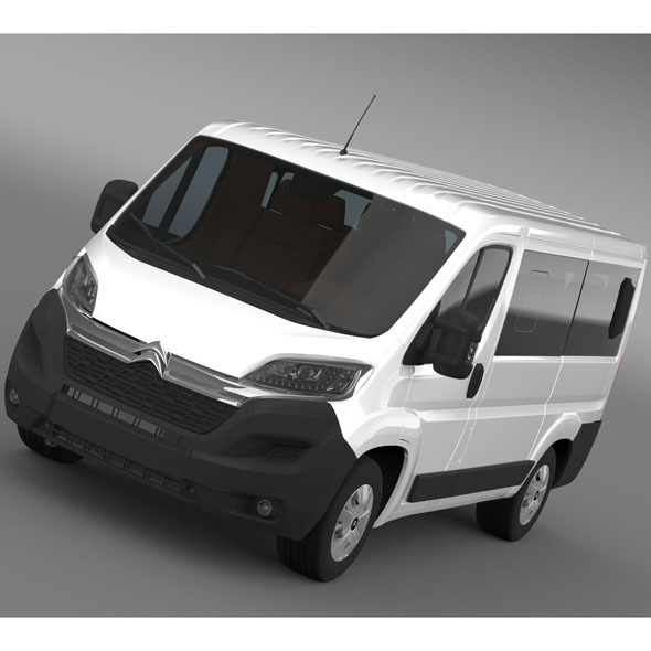Citroen Jumper Combi L1H1 2015 - 3DOcean Item for Sale