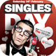 Singles Day Flyer Template - GraphicRiver Item for Sale