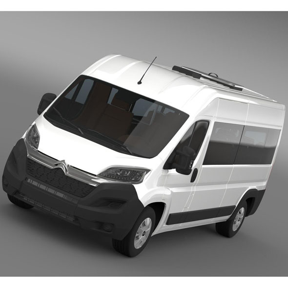Citroen Jumper Combi L3H2 2015 - 3DOcean Item for Sale