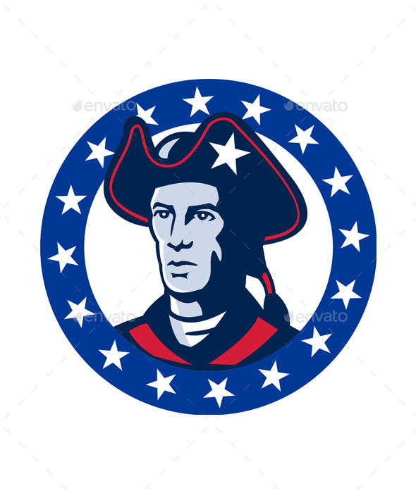 GraphicRiver American Patriot Minuteman 9929033
