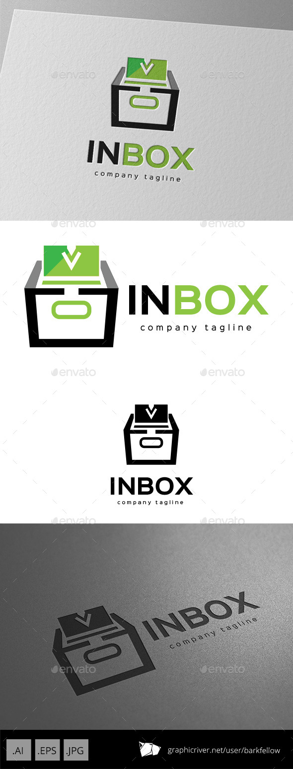 GraphicRiver In Box Logo Design 9929089