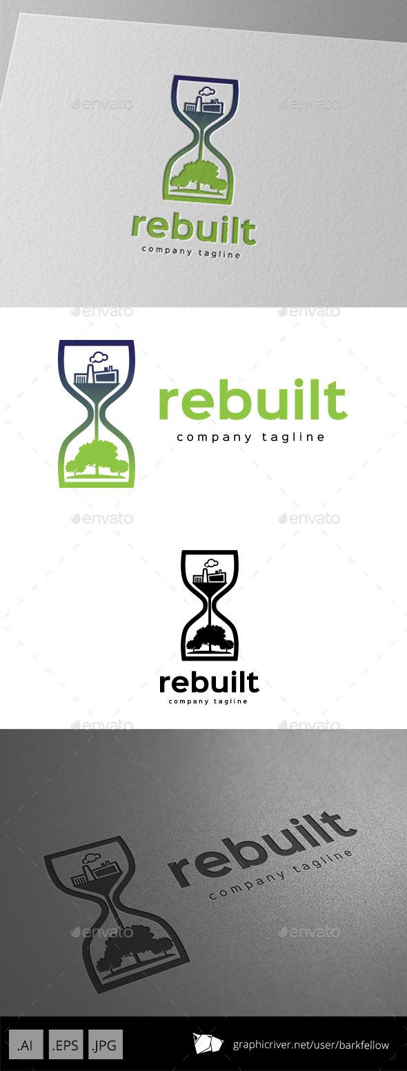GraphicRiver Go Green City Logo Design 9929120
