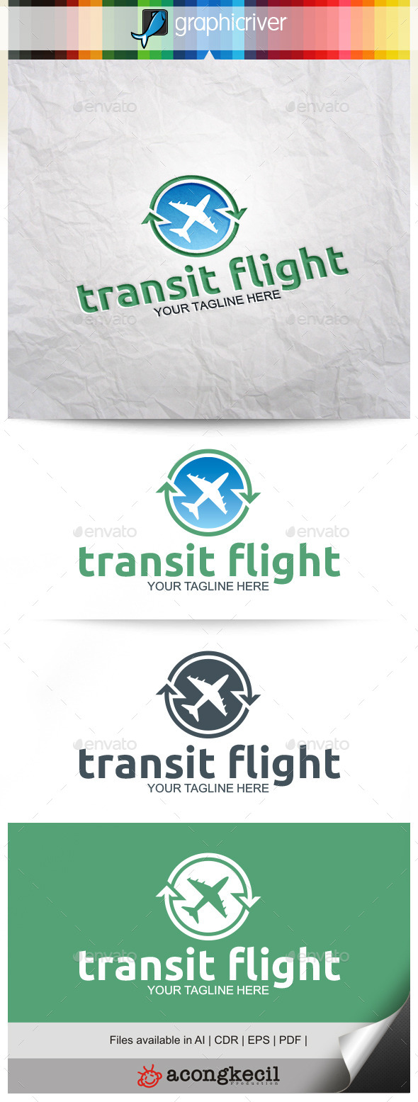 GraphicRiver Transit Flight 9929228